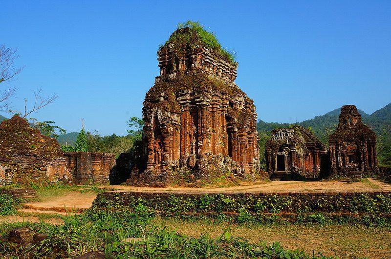 Sanctuaire My Son au Vietnam