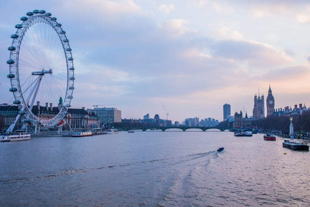 London Eye de Londres