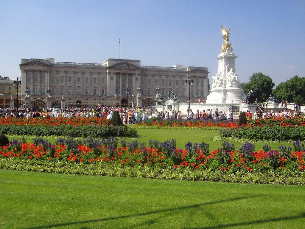 Parc du Palais de Buckingham Palace de Londres