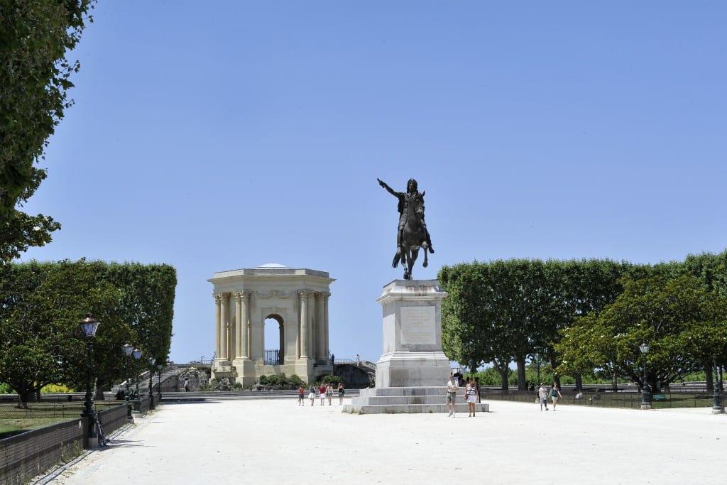 Place royale du Peyrou à Montpellier
