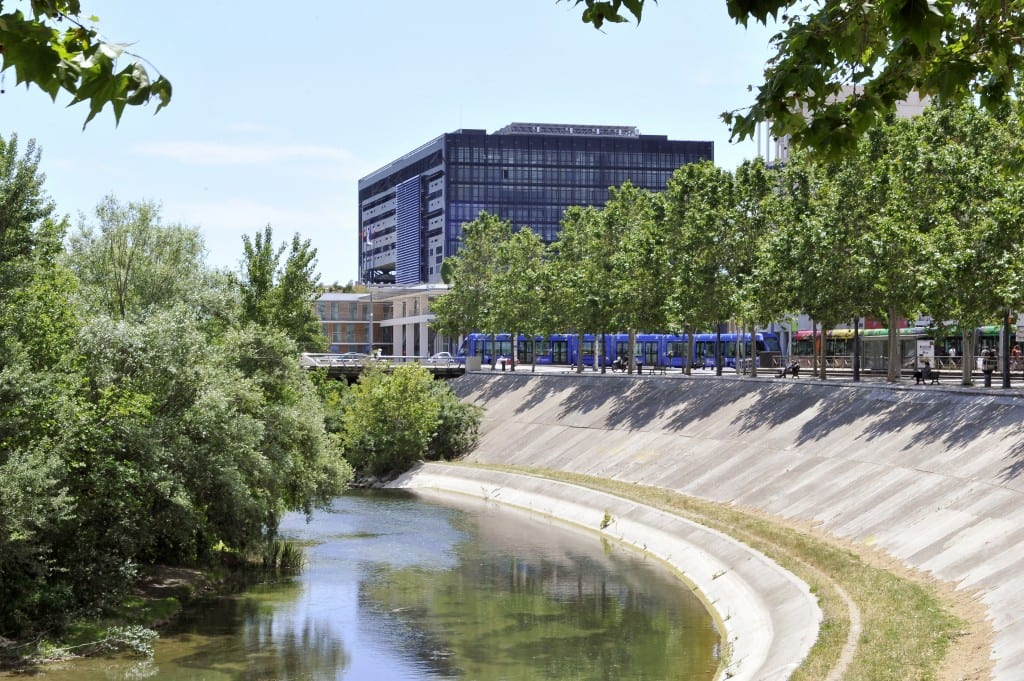 Rives du Lez à Montpellier : ballade