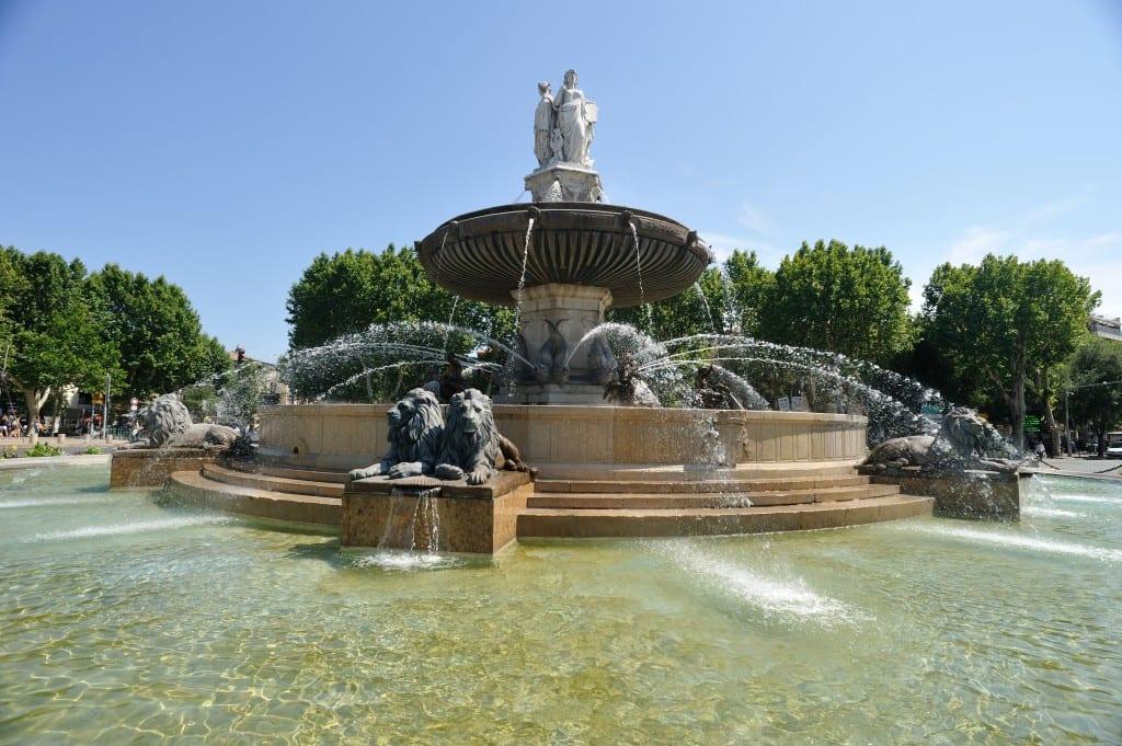 Vielle ville d'Aix-en-Provence
