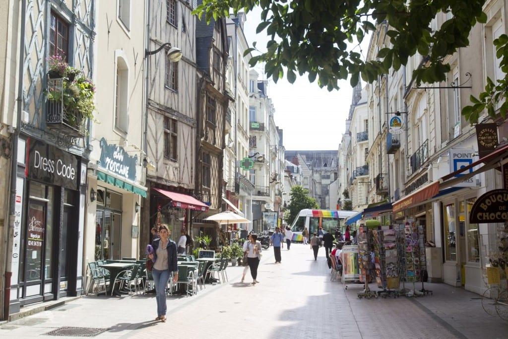 Visite guidée de la ville d'Angers