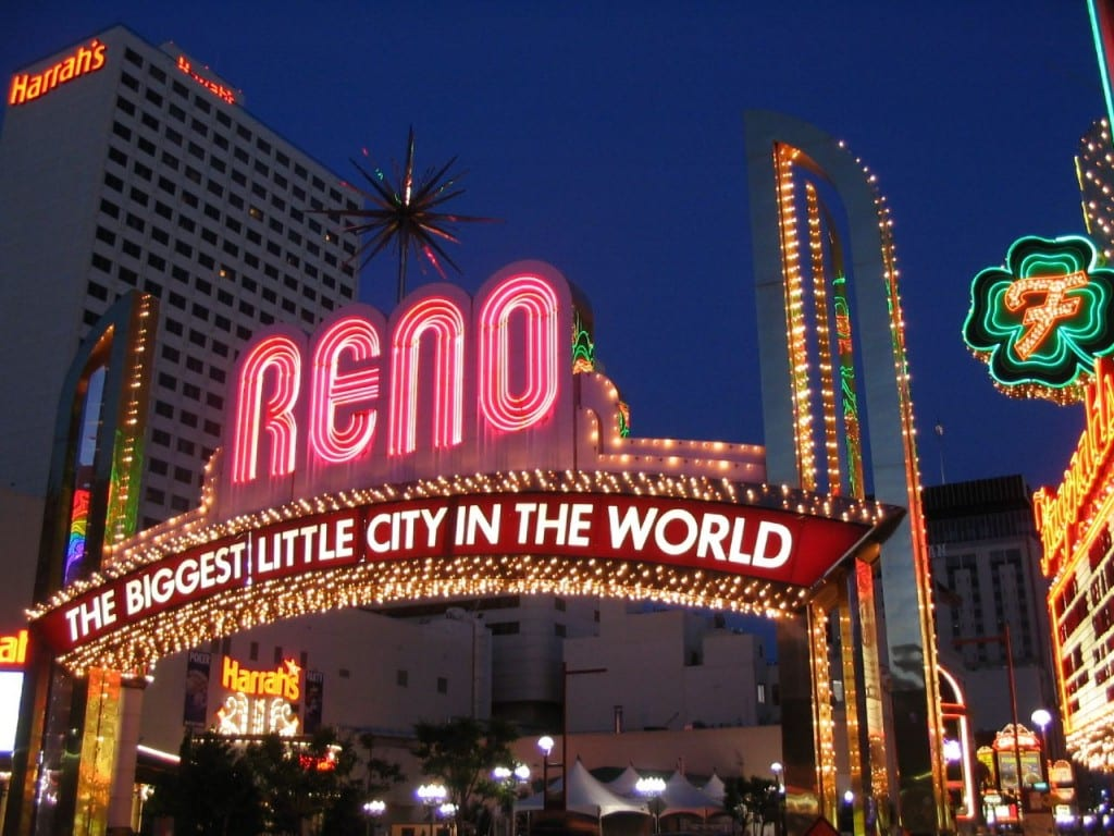 Les casinos de Reno