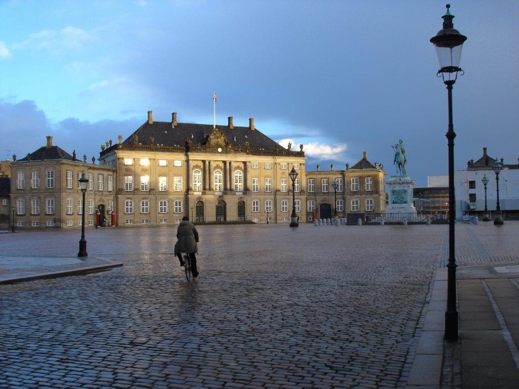 Amalienborg Palace de Copenhague