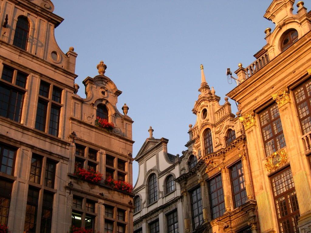 Quartier européen à Bruxelles