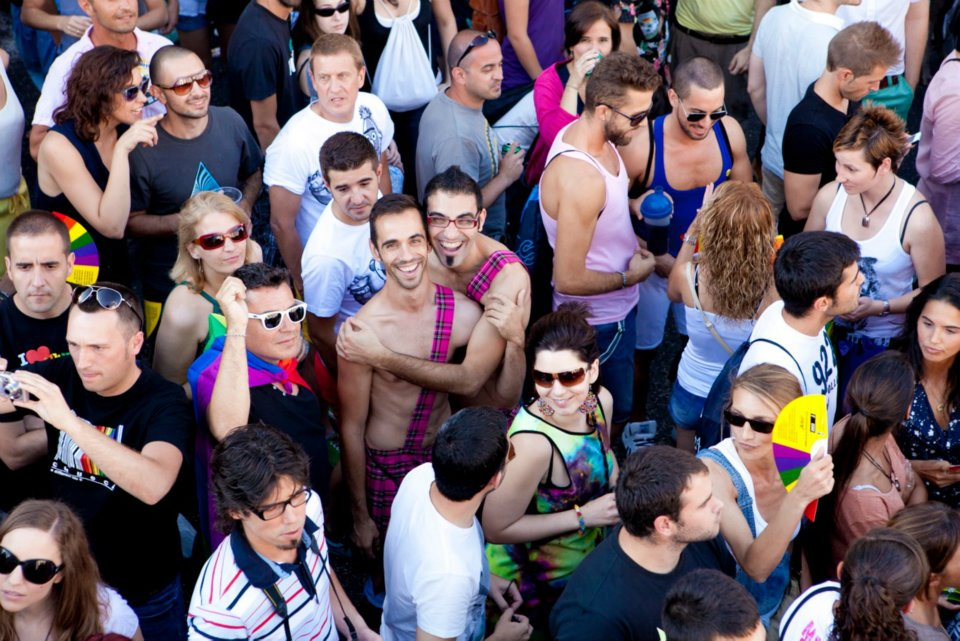 Participants de la Gay Pride de Madrid