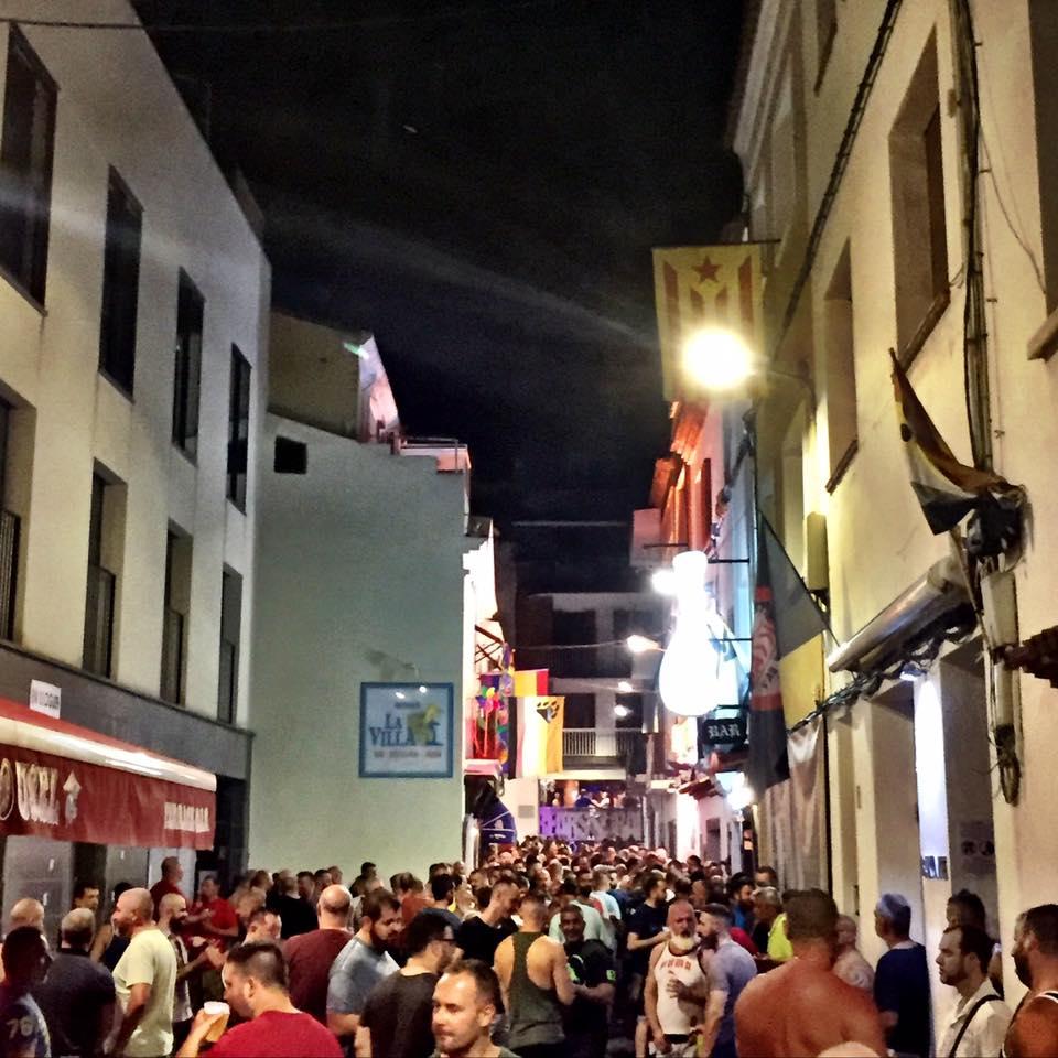 Quartier gay de Sitges