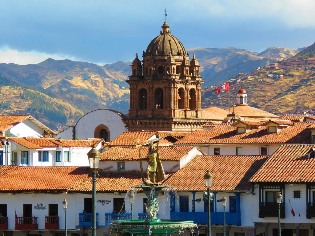 Cusco en direction vers le Machu Picchu