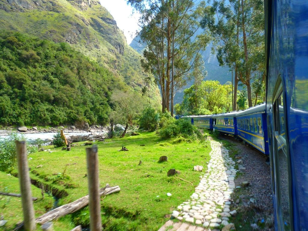 Train vers le Machu Picchu