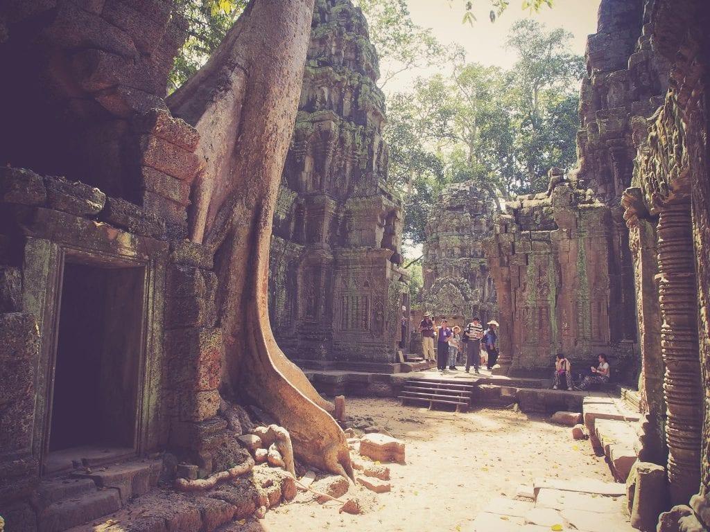 Circuit touristique des temples d'Angkor Vat