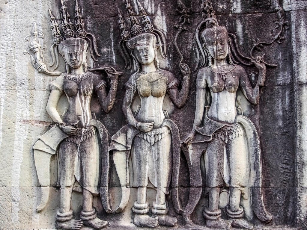 Guide touristique sur les temples d'Angkor Vat