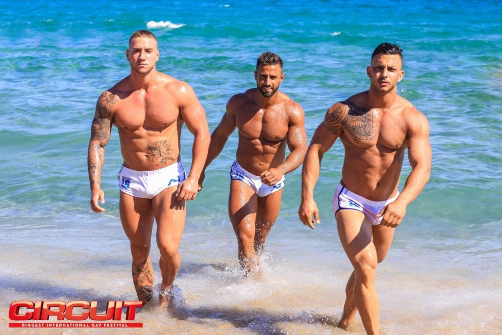 Plage gay de Barcelone