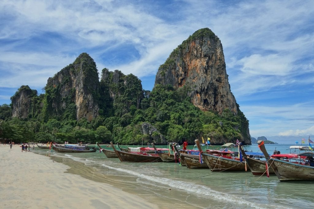 Destination de Railay