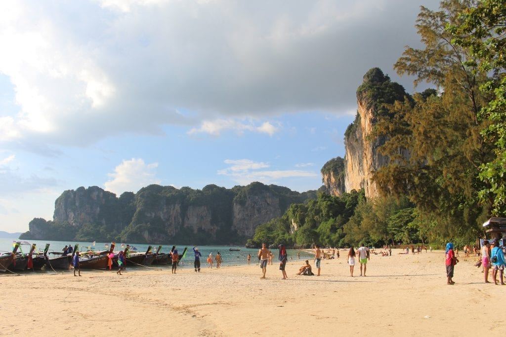 Plage de Railey, Krabi
