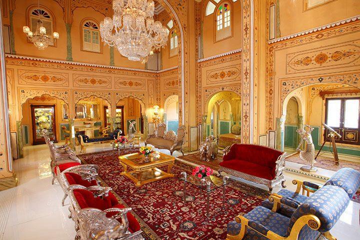 Histoire du palais du Raj Palace