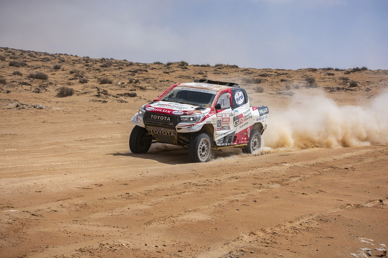 Le parcours du rallye Dakar en Arabie saoudite