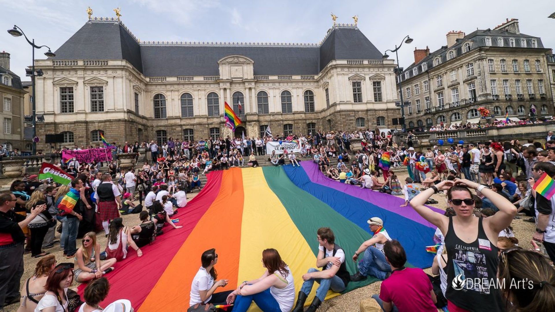 Marche de la fierté gay