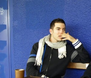 Gay Life à Paris en France d'Alexandre