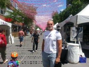 Scène gay à Montréal avec Fabrice