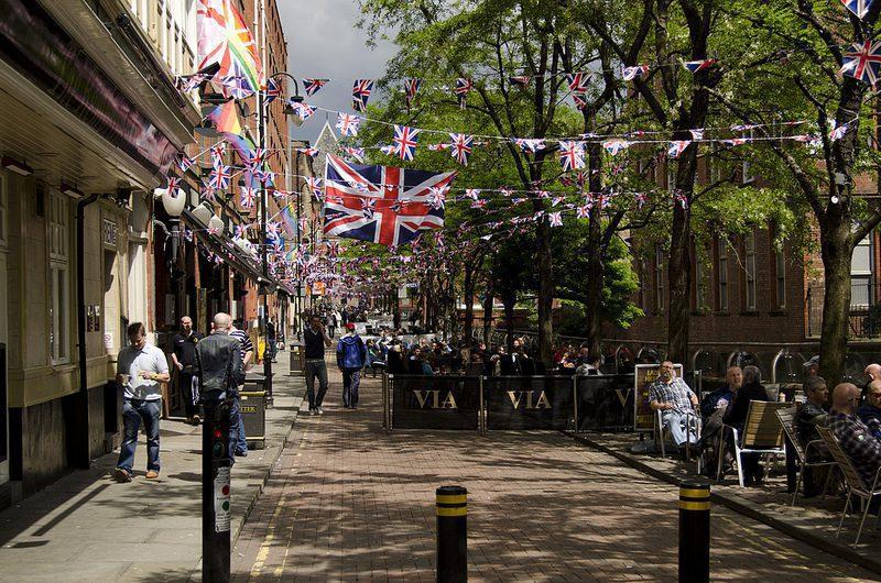 Canal Street de Manchester gay
