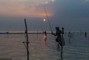 Pêche à Koggala au Sri Lanka