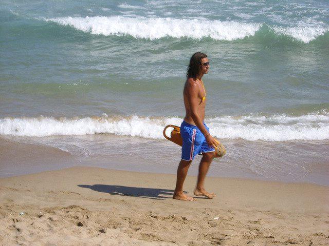 Plage gay à Sitges en Espagne