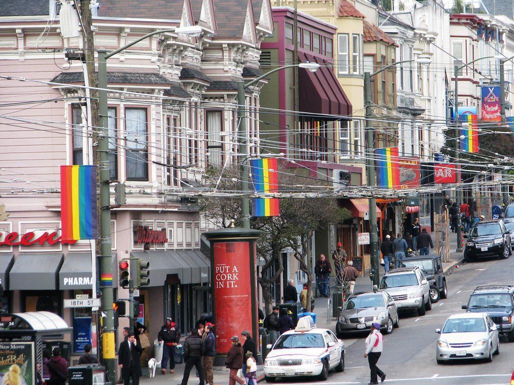 Quartiers gay dans le monde