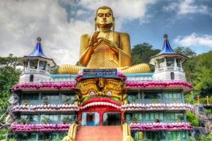 Le Temple d'Or de Dambulla