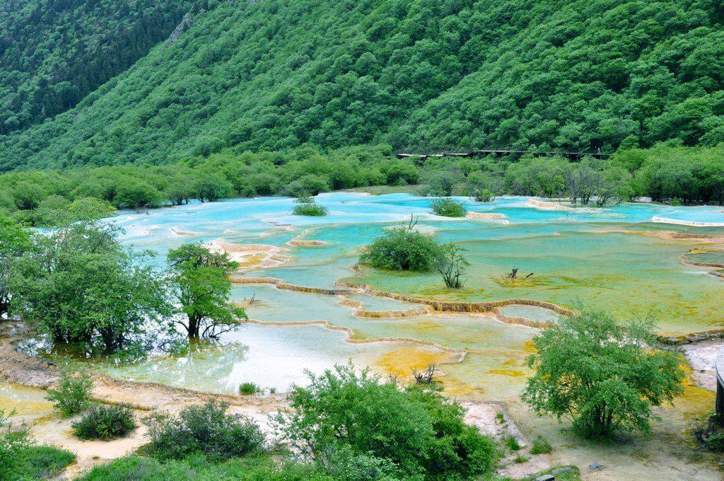 Huanglong : la Vallée du dragon jaune