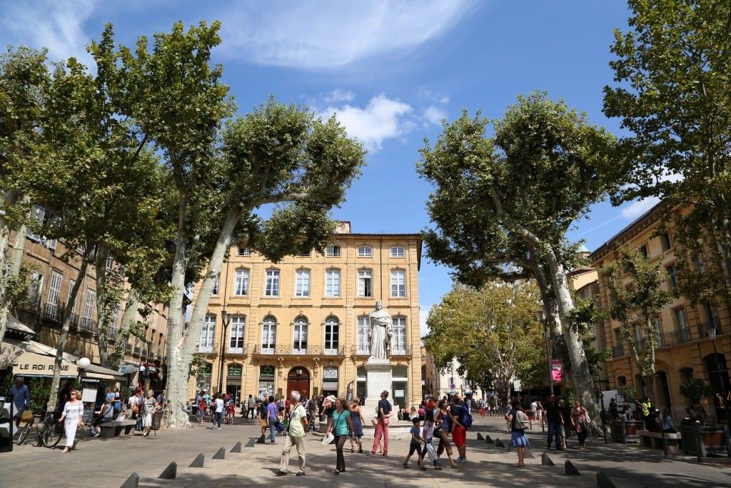 Quartier Mazarin d'Aix-en-Provence