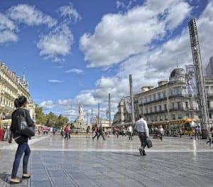 Place de la Comédie de Montpellier
