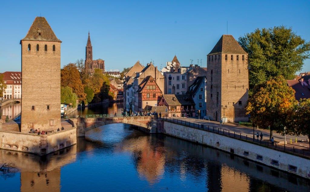 Les ponts couverts de Strasbourg