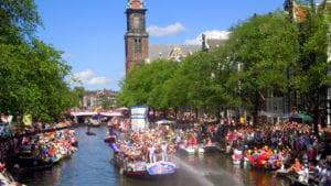 Gay Pride d'Amsterdam (Canal Pride)
