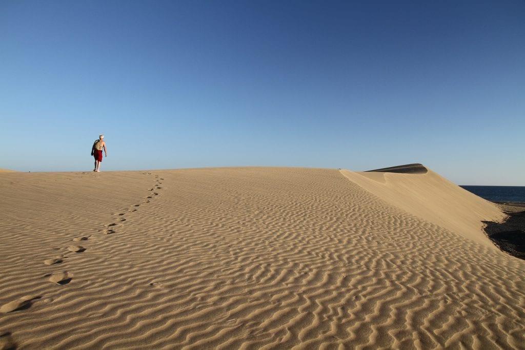 Les dunes de sable de Maspalomas