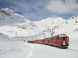 Le charme du train suisse