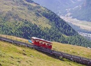 Train de la Suisse