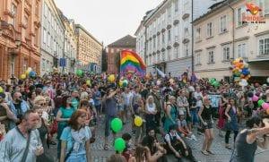 Marche de la fierté gay de Ljubljana