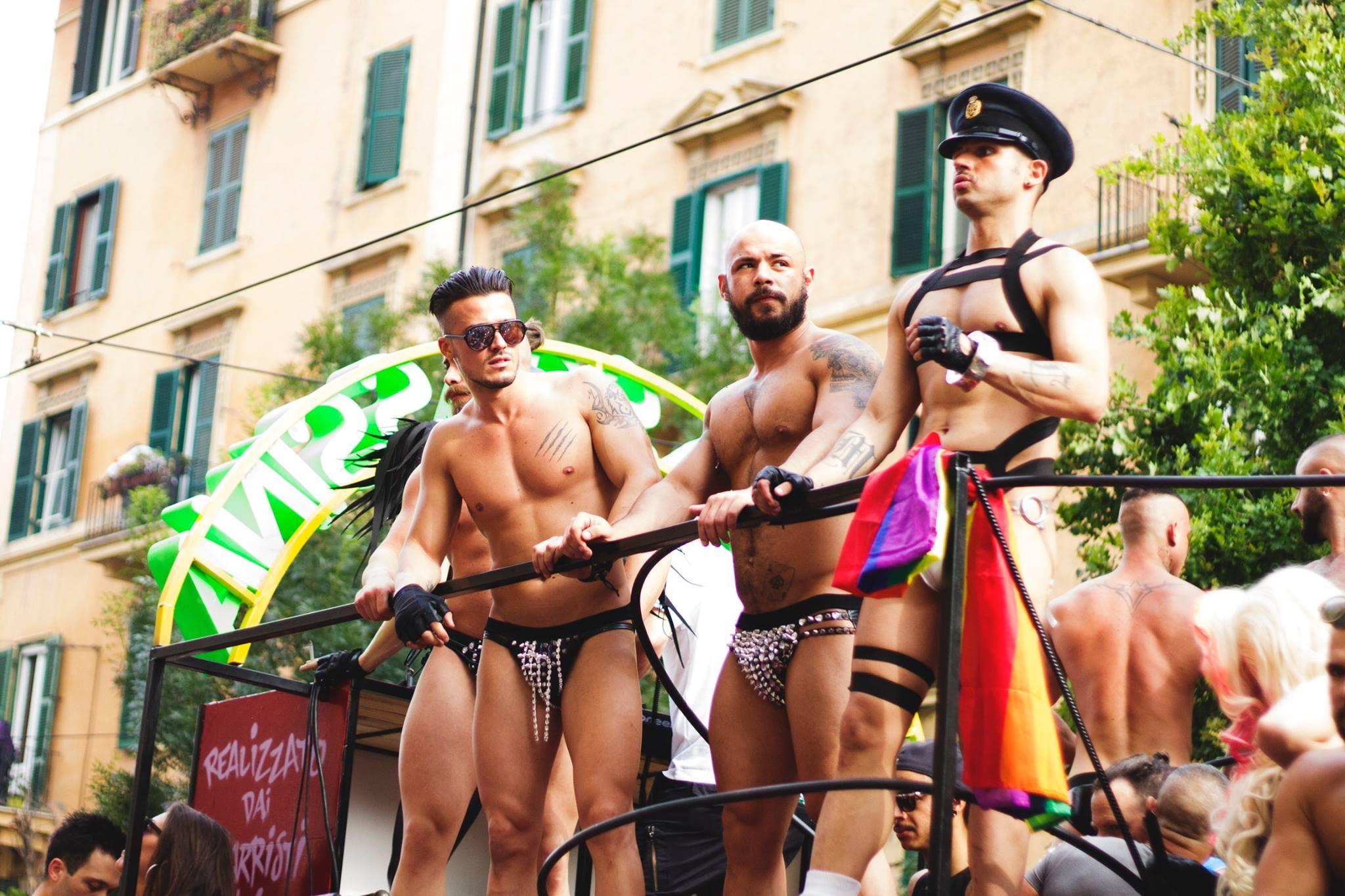 Marche de la fierté gay de Rome