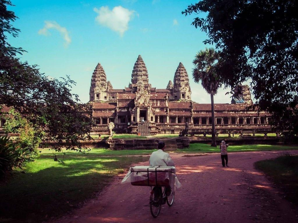 Visite des temples d'Angkor Vat