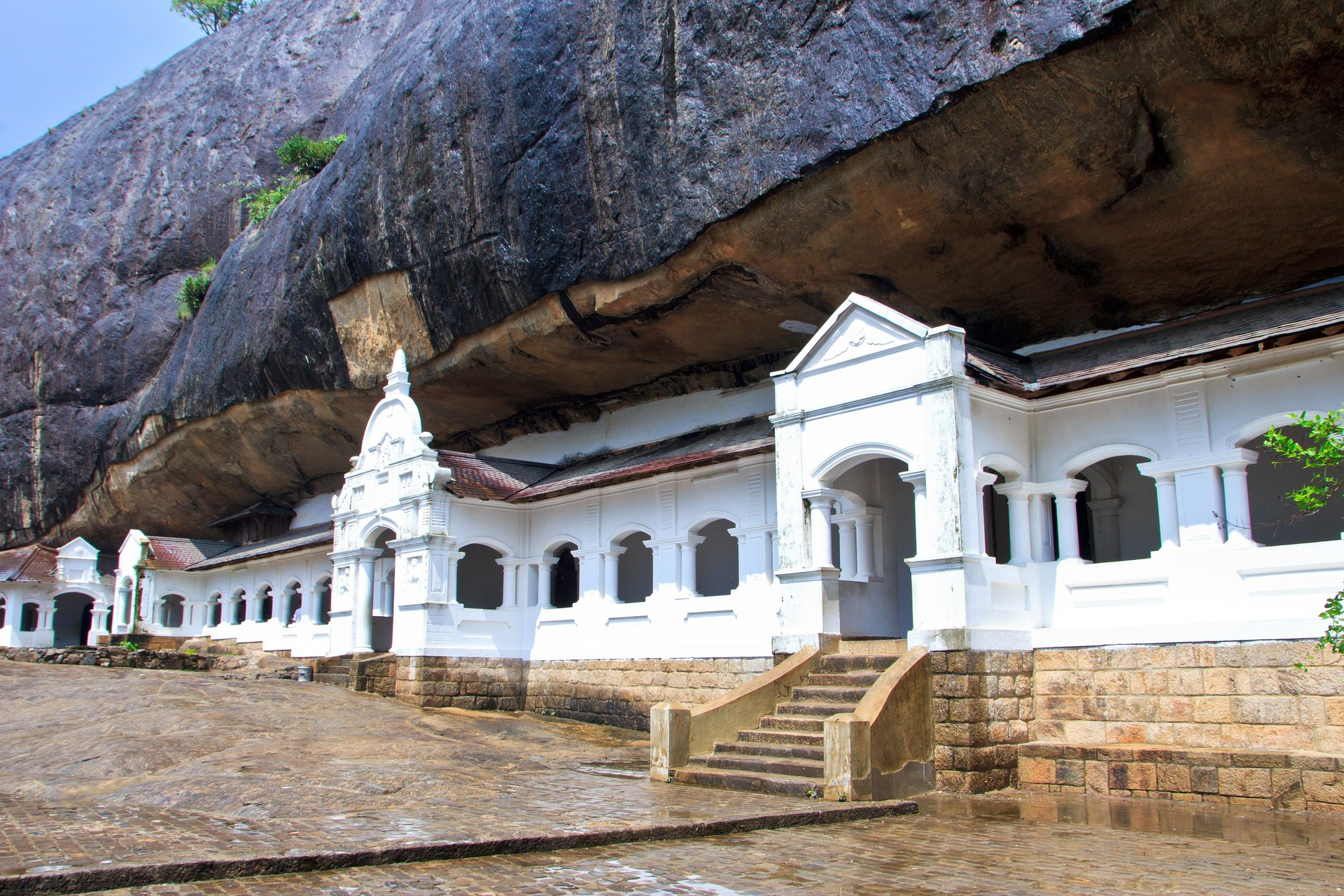 dambulla : temple d'or