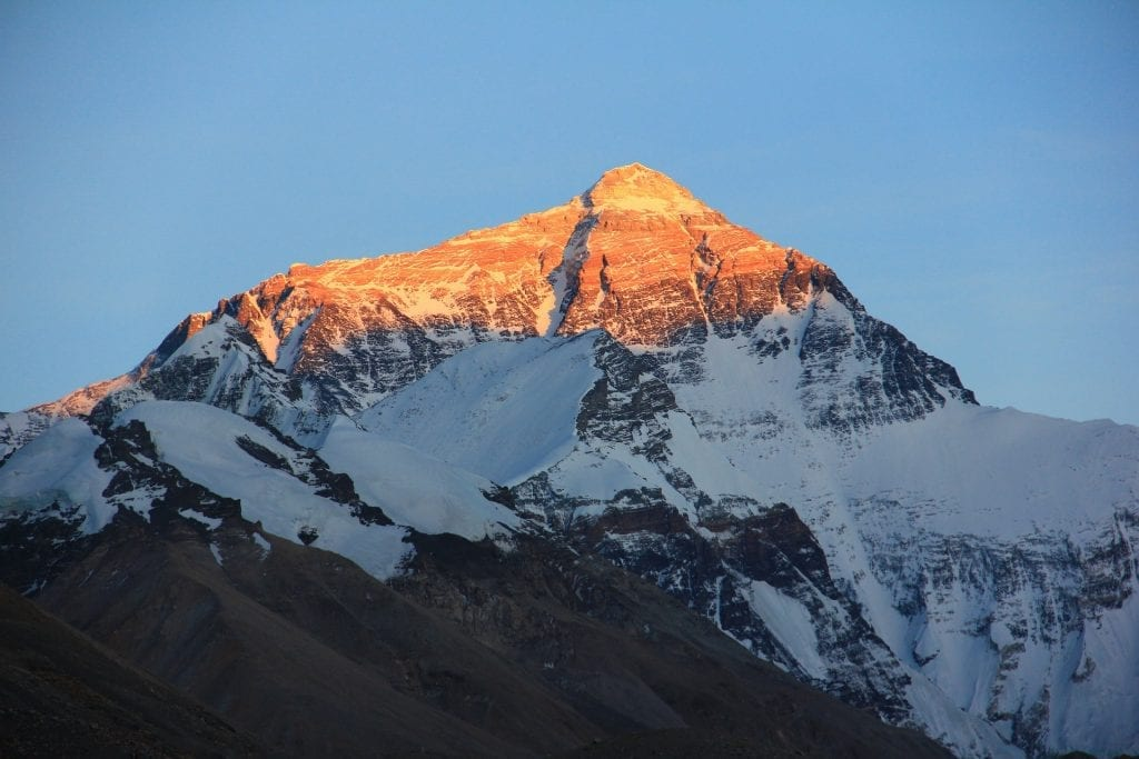Mont Everest au Népal