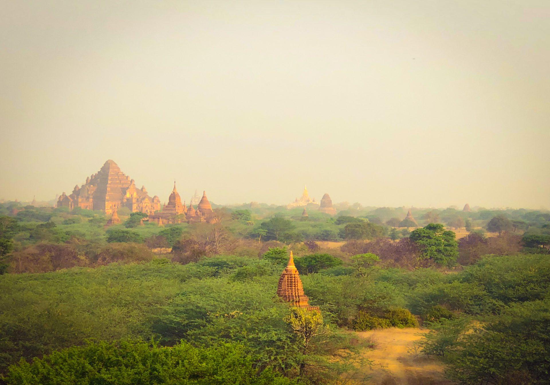 Visite de Bagan