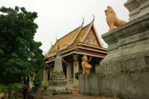 Tout sur le temple de Wat Phnom à Phnom Penh