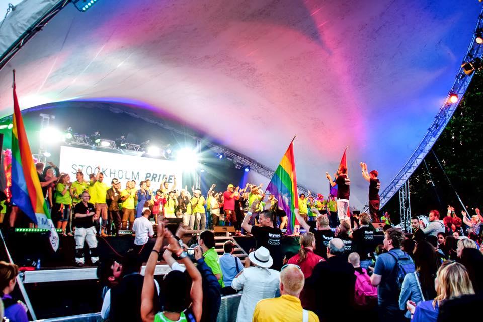 Scène gay Stockholm