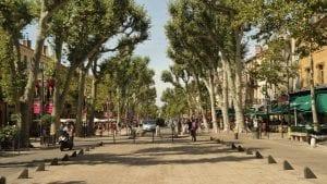 Vieille ville d'Aix-en-Provence