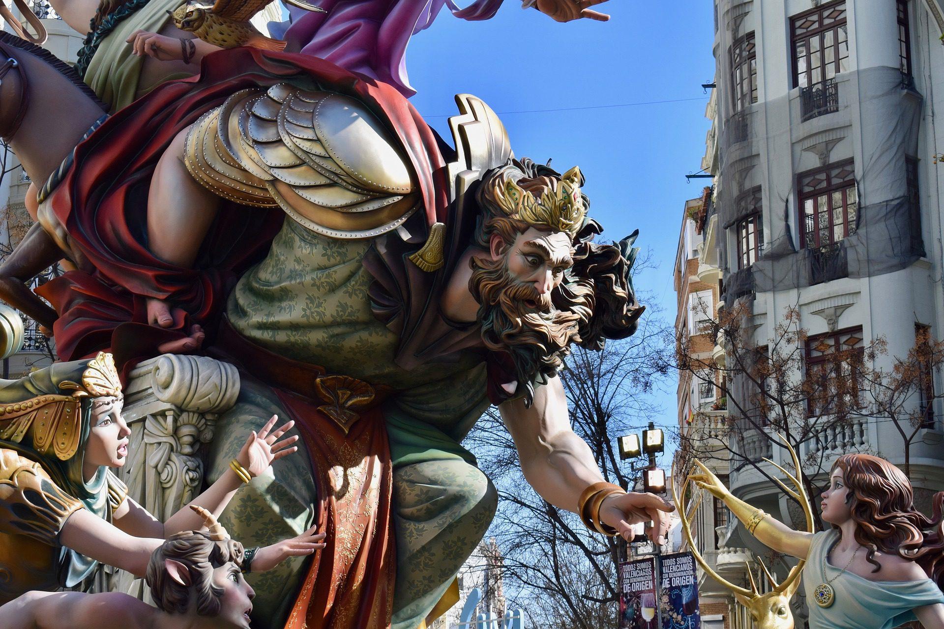 Festival Las Fallas de Valence