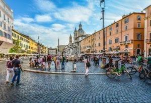 Visite à pied de la Piazza Navona de Rome