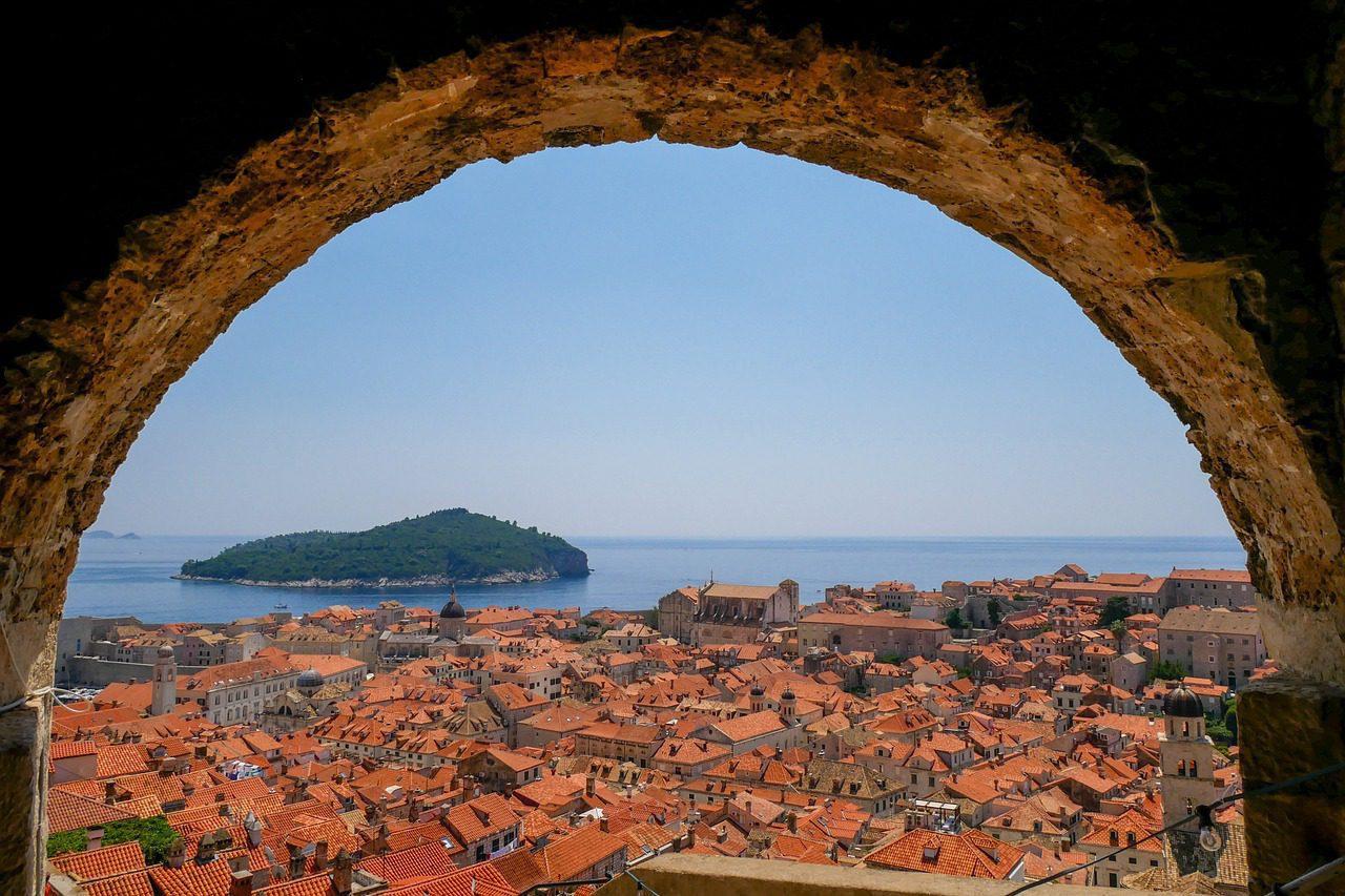 La beauté à l'intérieur de la Croatie