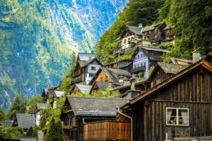 Autriche et ses paysages spectaculaires et ses palais baroques uniques